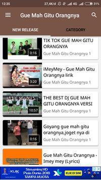 Video Musik Gue Mah Gitu Orangnya screenshot 1