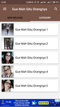 Video Musik Gue Mah Gitu Orangnya screenshot 2
