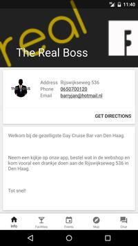 The Real Boss Den Haag poster