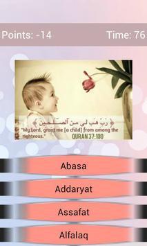 Guess The Quran Surah apk screenshot
