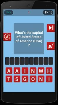 Guess the World Capitals Quiz apk screenshot