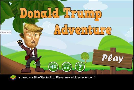 Donald TRUMP Adventure poster