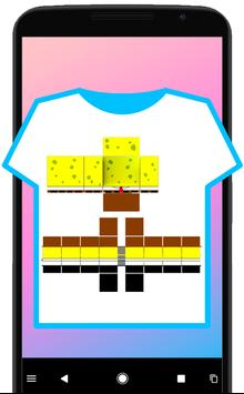 Guide for roblox shirt template tutorial apk download for Roblox shirt maker android