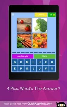 4 Pics: What's The Answer? apk screenshot