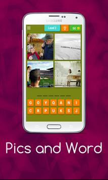 Pics and Word apk screenshot