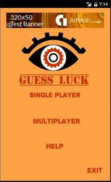 Guess Your Luck poster