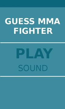 Guess MMA Fighter poster