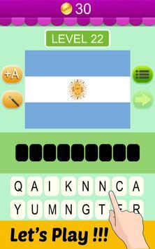 Guess the Flag Quiz 2016 apk screenshot