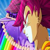 Coloring DBS Dragon Book icon
