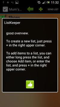 List Keeper screenshot 4