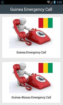 Guinea Emergency Call poster