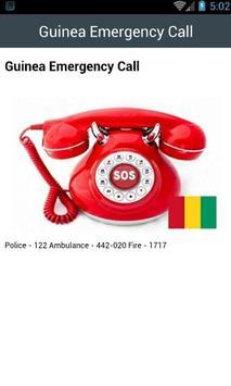 Guinea Emergency Call screenshot 1
