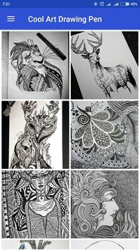 Cool Art Drawing Pens screenshot 1