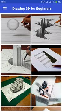 Drawing 3D for Beginners apk screenshot