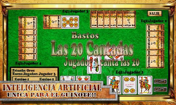 Guiñote Free apk screenshot