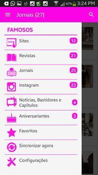 Notícias das Celebridades apk screenshot