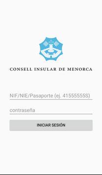 Gestión de guías turísticos de Menorca poster