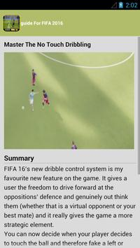 guide fifa 2016 new apk screenshot