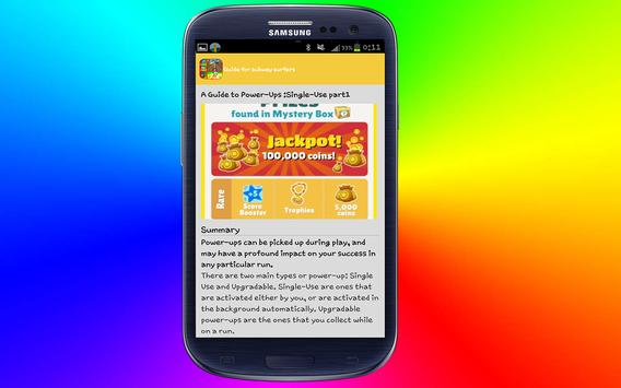 guide for subway surfers 2016 screenshot 22