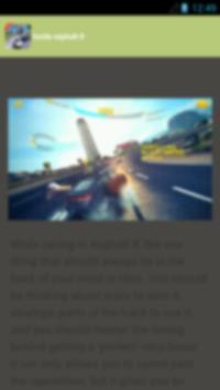 guide asphalt 8 (2016) poster