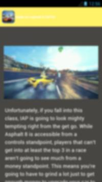 guide asphalt 8 (2016) apk screenshot