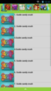 guide for candy crush 2016 apk screenshot