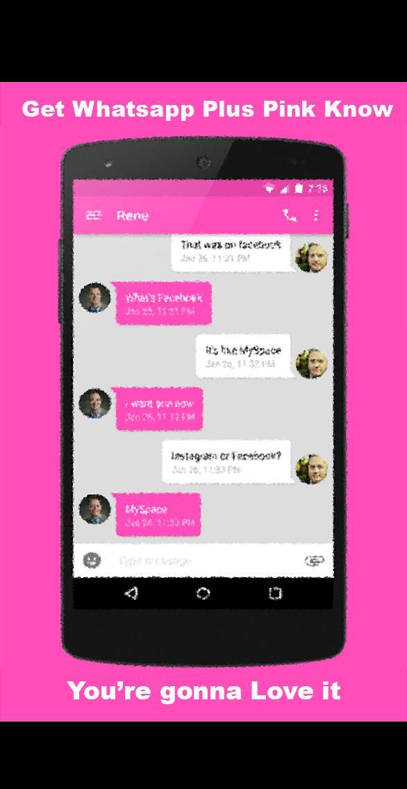 Guide For Whatsapp Plus Pink для андроид скачать Apk