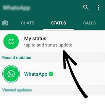 New WhatsApp Status Guide screenshot 1