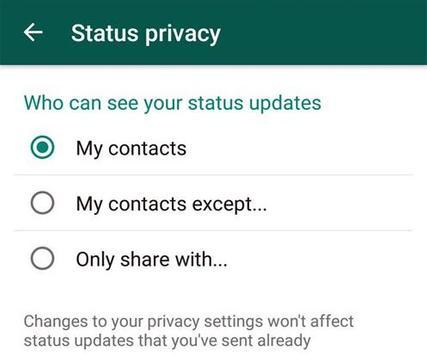 New WhatsApp Status Guide screenshot 2
