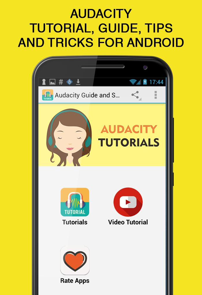 Audacity Guide for Android for Android - APK Download