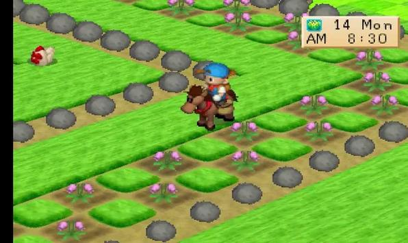 New Guide Harvest Moon Back To Nature captura de pantalla 1