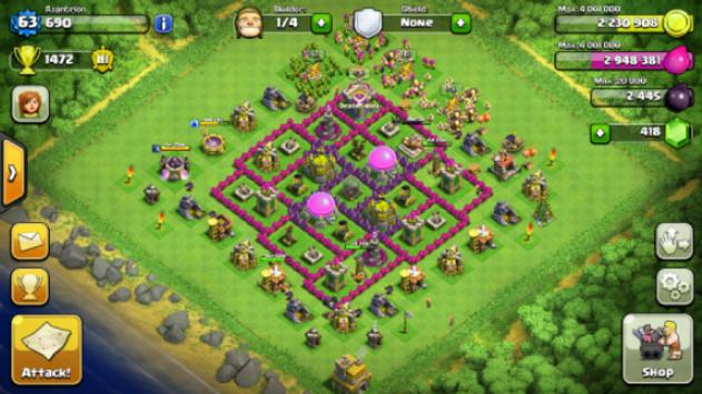 Guide for Clash of Clans screenshot 1