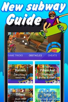 Trick Guide for Subway Surfers poster