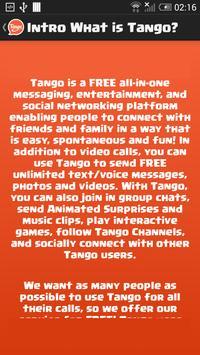 Free Tango Video Calls Guide apk screenshot