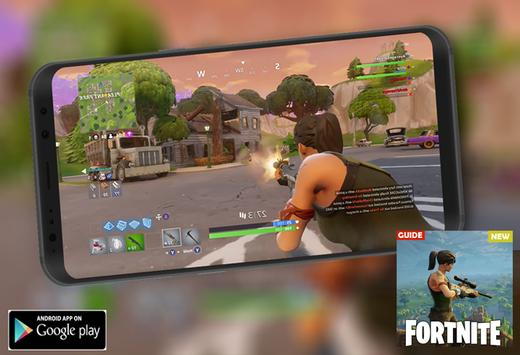 Game fortnite Battle royal NEW Guide apk screenshot