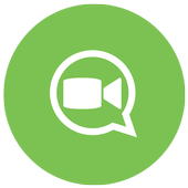 Guide free video calls chat icon
