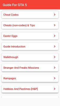 Guide for GTA 5 APK