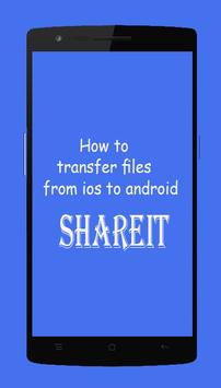 Guide SHAREit File large Transfer screenshot 1