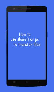 Guide SHAREit File large Transfer screenshot 3