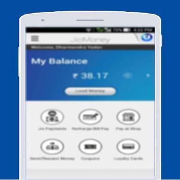 Free JioMoney Wallet Tips screenshot 1