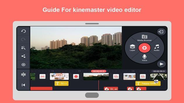 guide for kinemaster – éditeur vidéo pro guide apk screenshot