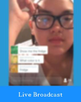 Tips Periscope Broadcast Live poster