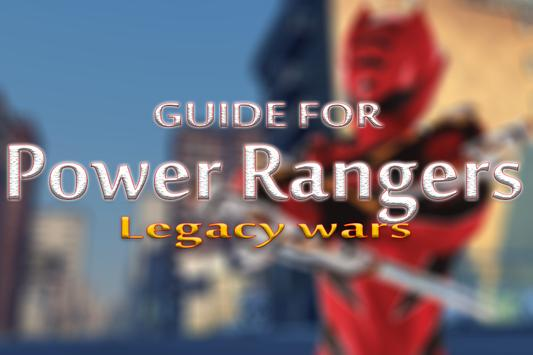 New Guide Power Rangers Legacy poster