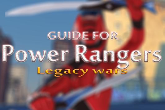 New Guide Power Rangers Legacy apk screenshot