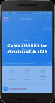Guide SHAREit for Android & iOS poster