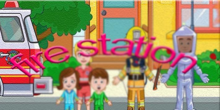 Hints  My Town : Fire station screenshot 3