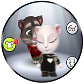 Game guide-talking tom icon