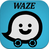 Free: Waze GPS Maps Traffic Alerts Navigation Tips icon