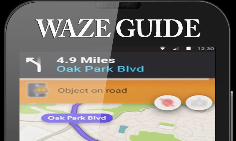 Free: Waze GPS Maps Traffic Alerts Navigation Tips poster