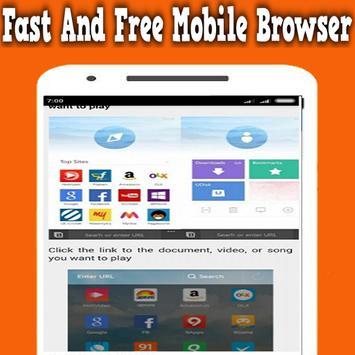 New Uc browser Fast 2017 Tips apk screenshot